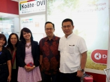 DIPA HEALTHCARE EXHIBITION in National Congress of Indonesian Society Internal Medicine (KOPAPDI) XVI BANDUNG 2015