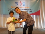 DIPA CORPORATE SOCIAL RESPONSIBILITY , BOS Donation for The High Achieving Student